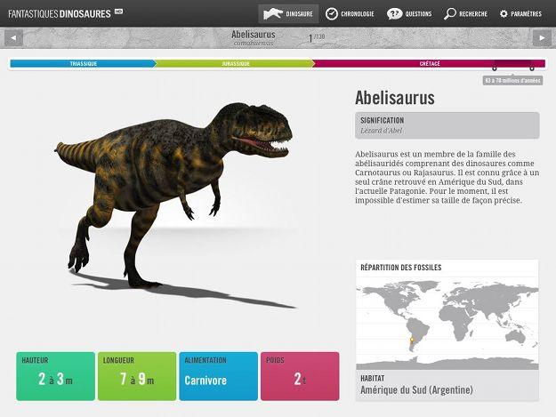 Fantastiques dinosaures - Liste des dinosaures carnivores ...