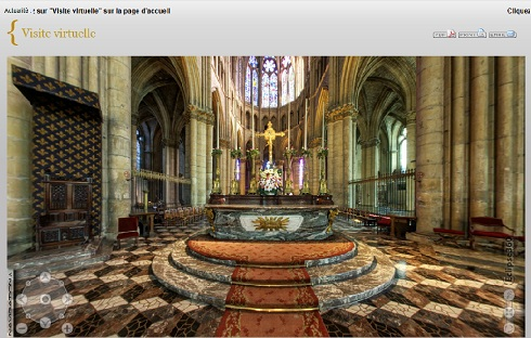 La cathédrale de Reims en visite virtuelle