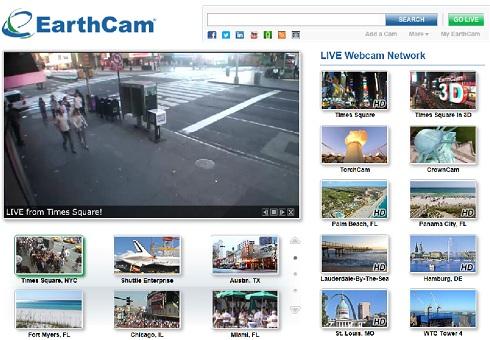 webcams du monde