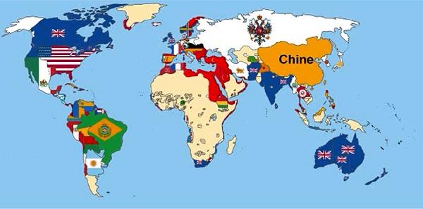 évolution des pays