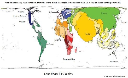 pauvret 233 dans le monde